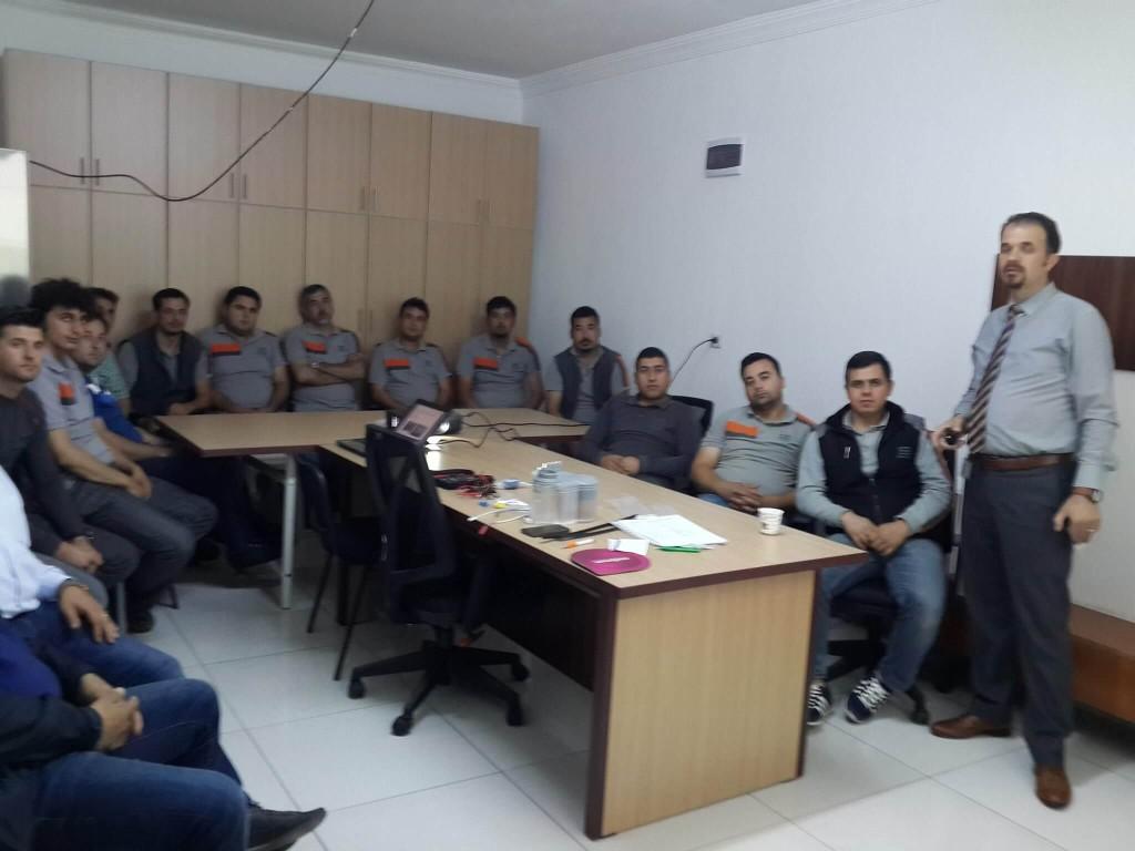 Arıcı Mühendislik BSH Servis Eğitimi