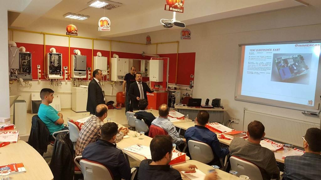 Arıcı Mühendislik İstanbul İmmergas Servis Eğitimi